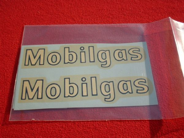 "Dinky Toys 941 FODEN TANKER ""MOBILGAS"" TRANSFERS / DECALS"